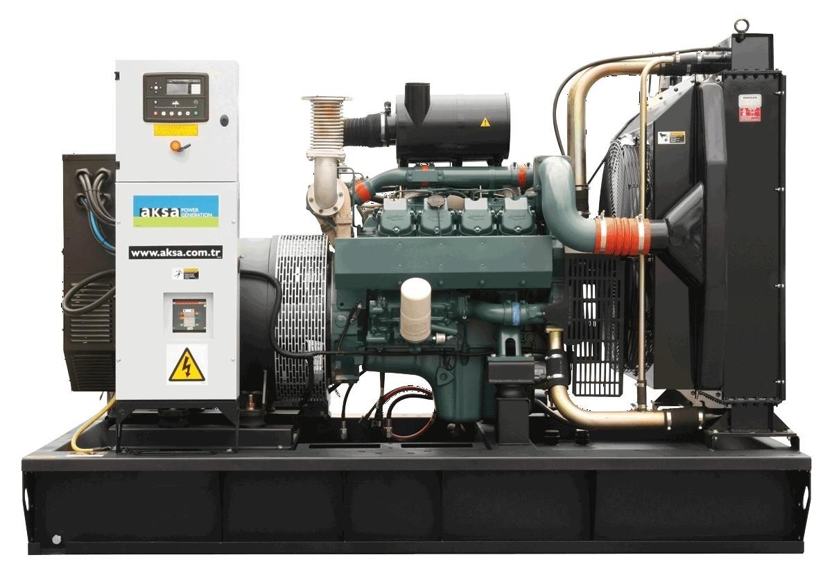 Дизельный генератор 400 кВт AKSA AD 550 с двигателем Doosan