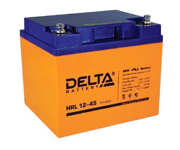 Аккумулятор Delta HRL 12-45