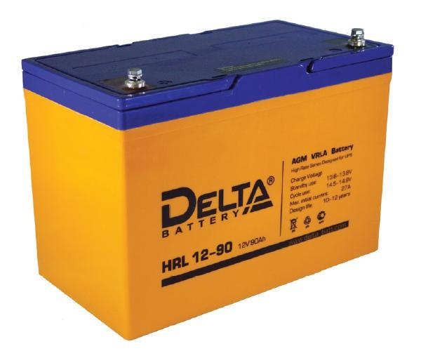 Аккумулятор Delta HRL 12-90