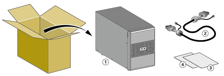 Комплект поставки батарейный модуль Источник бесперебойного питания Eaton 9SX1000I
