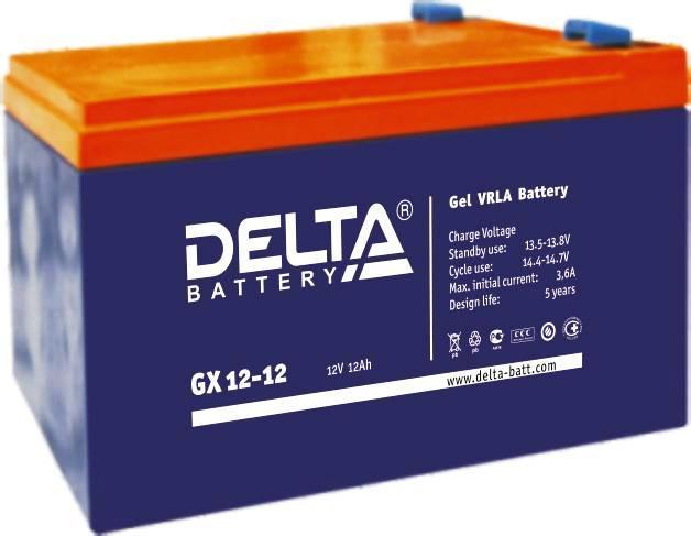 Аккумулятор DELTA GX 12-12