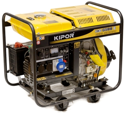 Дизель генератор 5 кВт Kipor KDE 6500 E