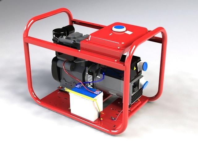 Дизельный генератор 8 кВт Вепрь АДП 8-230 ВЛ-БС