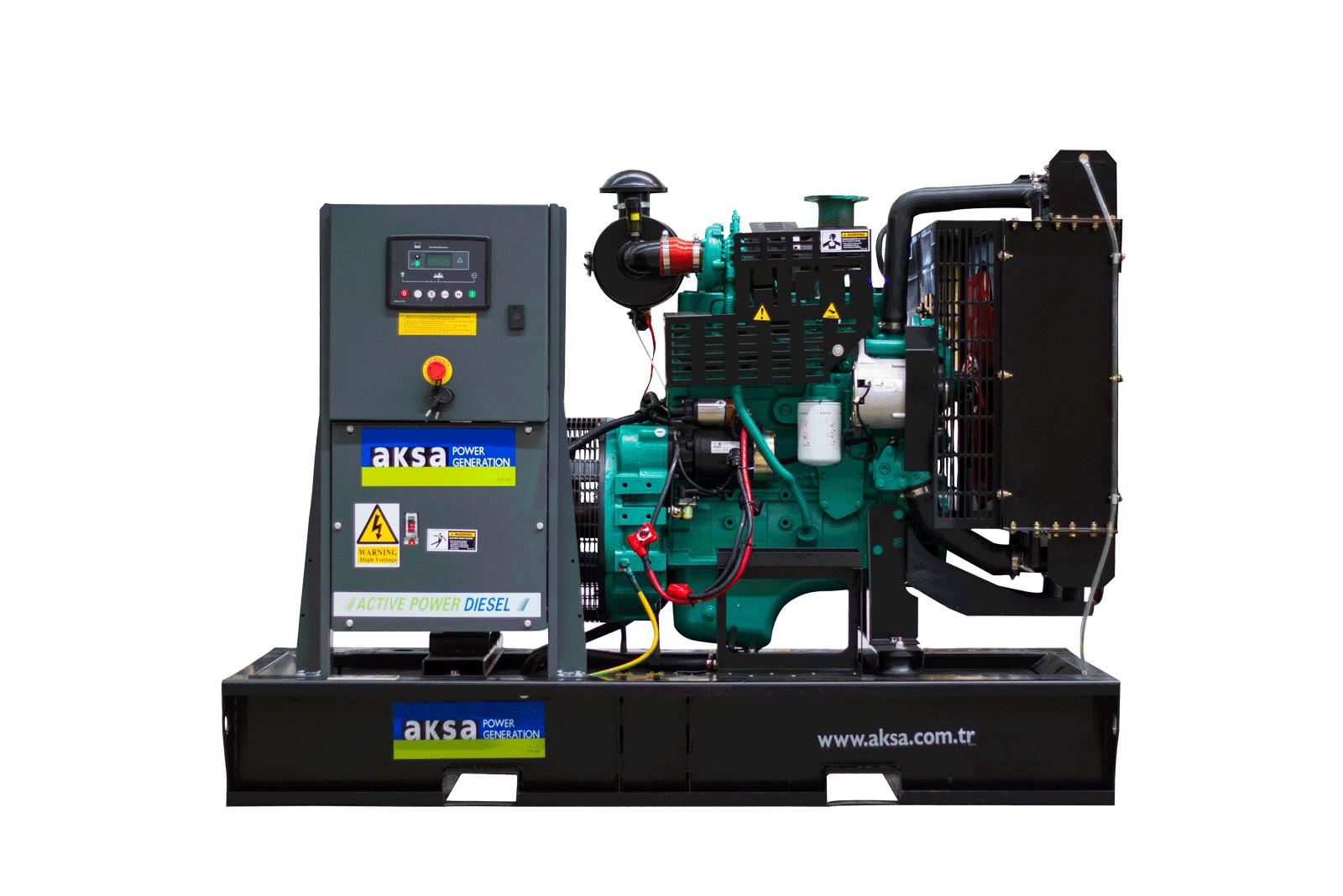 Дизельный генератор 30 кВт AKSA APD 43C Cummins