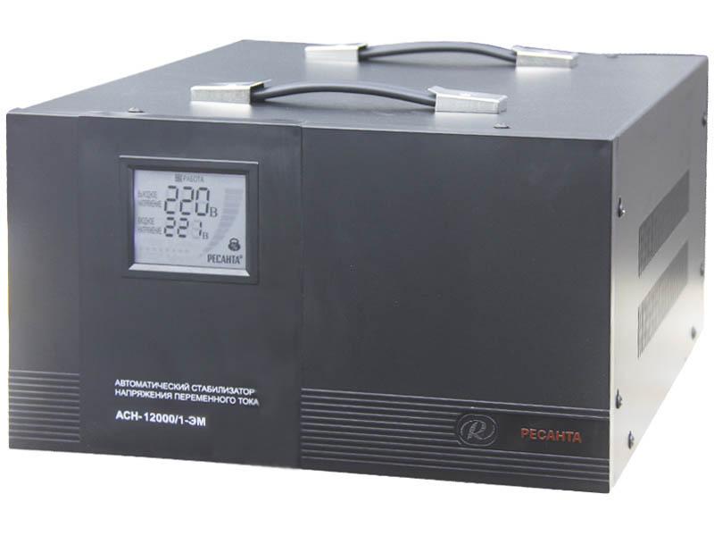 Стабилизатор напряжения Ресанта АСН 12000 ЭМ
