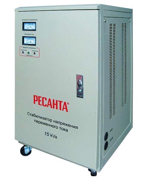 Стабилизатор напряжения однофазный 15 кВт 220 Вольт Ресанта АСН 15000