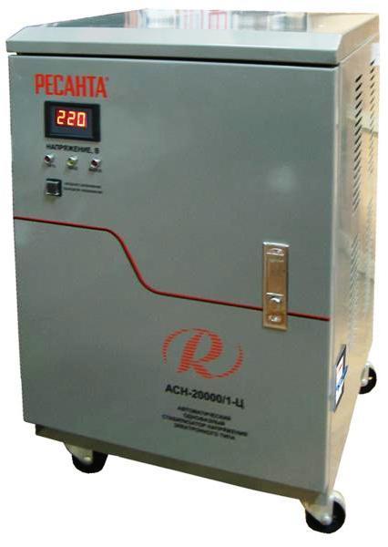 Стабилизатор напряжения однофазный 20 кВт 220 Вольт Ресанта АН 20000