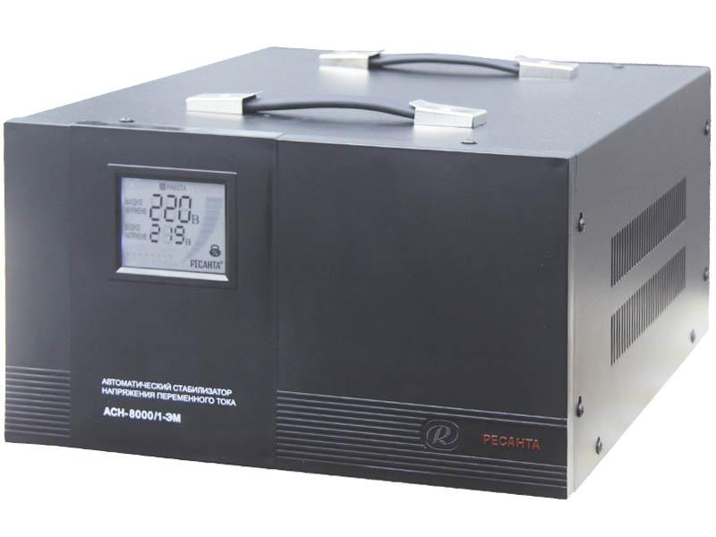 Стабилизатор напряжения Ресанта АСН 8000 ЭМ