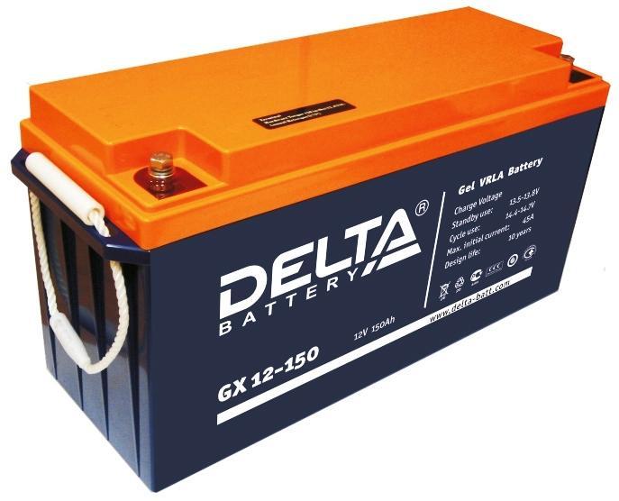 Аккумулятор DELTA GX 12-10