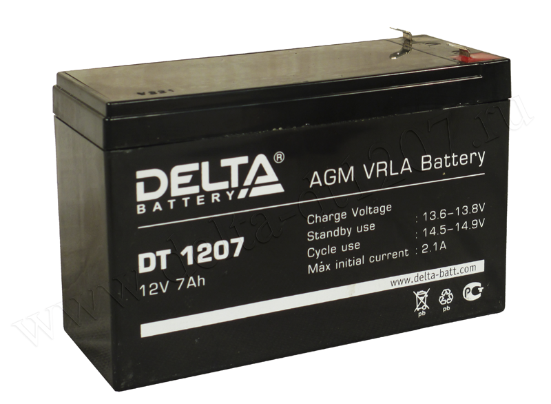 Аккумулятор DELTA DT 1207