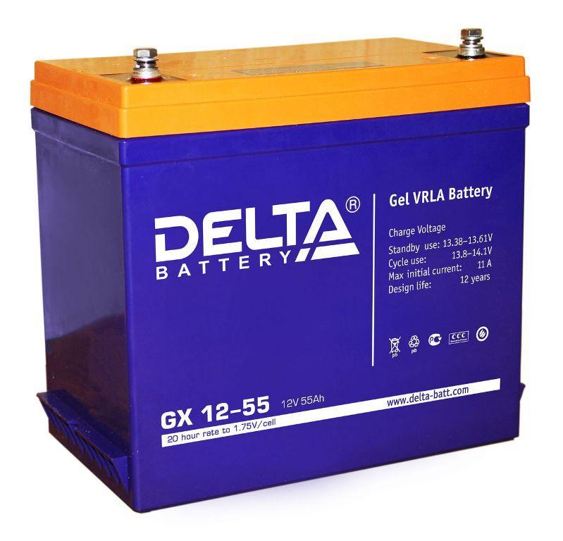 Аккумулятор DELTA GX 12-55