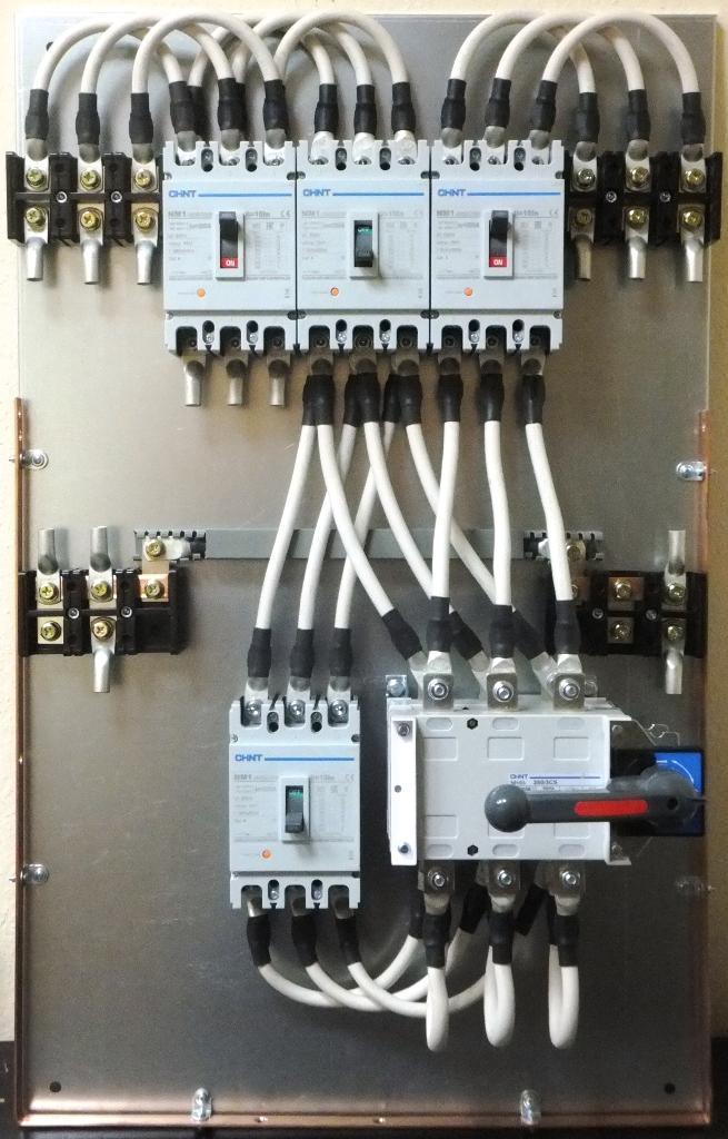 Сервисный байпас с безопасной и безразрывной коммутацией СБС 200А (для ИБП 100кВА)