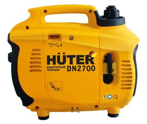 портативный однофазный 220V Вольт бензиновый генератор Huter 2700
