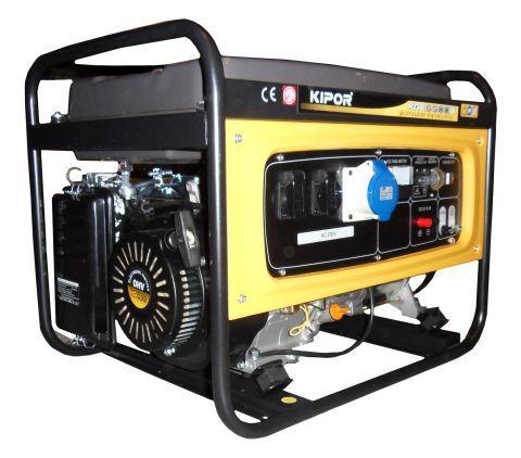 бензиновый генератор кипор kipor  kge 6500 x