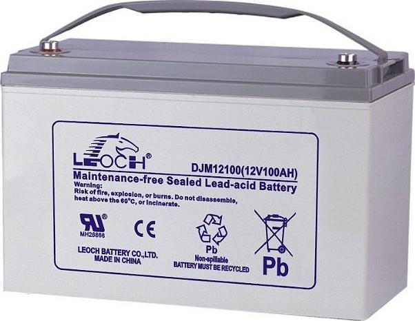 Аккумулятор Leoch DJM 12100