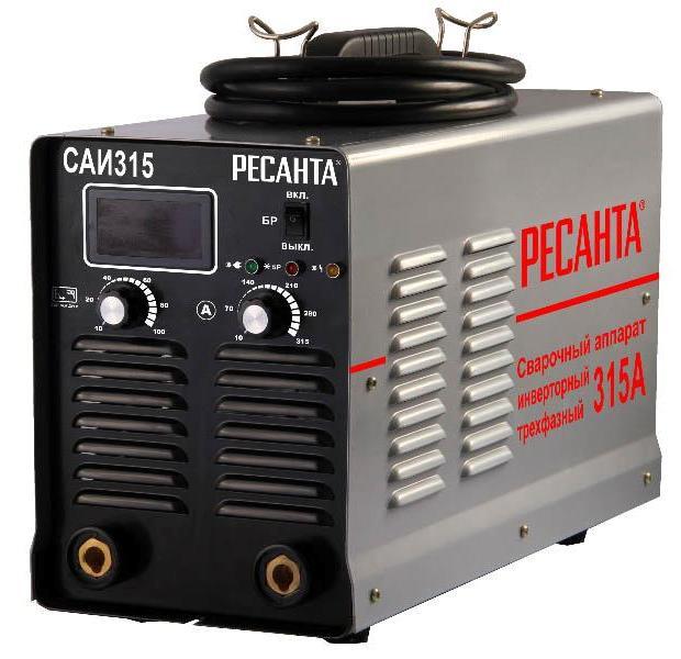 Сварочный инвертор Ресанта САИ 315 трёхфазный