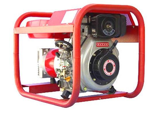 Дизельный генератор 3 кВт Вепрь АДП 3-230 ВЯ-Б